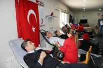 KARABÖRK - Polisten 'Zeytin Dalı Harekatı'na Kan Bağışı Desteği