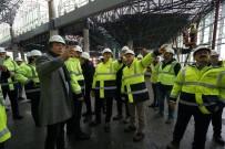 KEMAL ÖZTÜRK - THY yöneticileri 3. Havalimanını gezdi