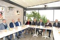 ÇALIŞAN GAZETECİLER - TSO Yöneticileri Gazetecilerle Bir Araya Geldi