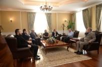 SIYAH BEYAZ - Vali Azizoğlu, Mobbing Heyetini Kabul Etti