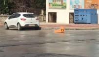 ŞEYH ŞAMIL - Yol Ortasında Alev Alan Piknik Tüp Bomba Gibi Patladı