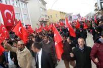 Ağrı'da Mehmetçiğe Destek İçin Binler Yürüdü