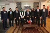 İBRAHIM ETHEM - AK Parti İl Gençlik Kolları Başkan Büyükkılıç'ı Ziyaret Etti