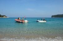 AYIŞIĞI - Amatör Balıkçıların Teknesi Batma Tehlikesi Geçirdi