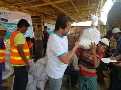 Arakanlı mültecilere Hasene yardım elini uzattı