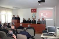 BAŞKANLIK SEÇİMİ - Arapgir'de ESKKK Genel Kurulu Yapıldı