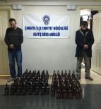 ALKOL SATIŞI - Başkent'te Kaçak İçki Satan 2 Kişi Yakalandı