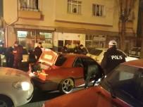 HÜSEYIN CAN - Başkent'te Polis-Şüpheli Kovalamacası Kazayla Bitti