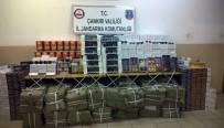 Çankırı'da 850 Bin TL Değerinde Kaçak Malzeme Ele Geçirildi