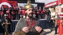 AY YıLDıZ - Edirne'de Mehmetçiğe Destek Yürüyüşü
