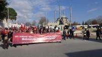 SELIMIYE CAMII - Edirne'den Zeytin Dalı Harekatı'na Destek Yürüyüşü