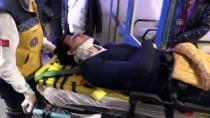 ARAZİ ARACI - Göl Etrafında ATV İle Gezen İki Kişi Yaralandı