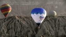 KUŞ BAKıŞı - GRAFİKLİ - Kapadokya'yı 329 Bin Turist Kuş Bakışı İzledi