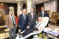 GAZIANTEP TICARET ODASı - GTO Üyeleri 'Kan Bağışı' Kampanyasında Buluştu