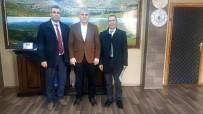 SAKLI CENNET - İhlas Grubu'ndan Bayburt Belediye Başkanı Mete Memiş'e Ziyaret