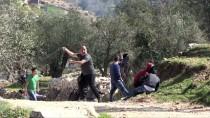 KUDÜS - İsrail Askerleri Gazze Sınırında Bir Filistinliyi Başından Yaraladı
