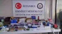 GIDA TAKVİYESİ - İstanbul'da Sahte İlaç Operasyonu Açıklaması 205 Bin 396 Ürün Ele Geçirildi