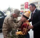 JANDARMA GENEL KOMUTANI - Jandarma Genel Komutanı Orgeneral Çetin, Zeytin Dalları İle Karşılandı