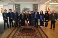 BİLİM ADAMI - Kayseri Lisesi Öğrencileri Melikgazi'de