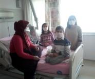 YÜKSEK TANSİYON - Kızları Nakil Oldu, Diğer İki Çocuklarında Da Hastalık Çıktı