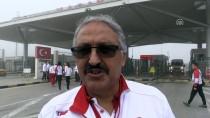 KAPIKULE SINIR KAPISI - Milli Atletler Şampiyona İçin Bulgaristan'a Gitti