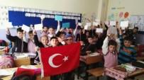 Minik Eller Mehmetçik İçin Kaleme Sarıldı