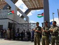 REFAH SINIR KAPISI - Mısır Refah Sınır Kapısı'nı Kapattı