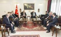 TİCARET BAKANLIĞI - Müsteşar Yardımcısı Yücel'den Vali Zorluoğlu'na Ziyaret