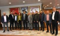 NAZİLLİ BELEDİYESPOR - Nazilli Belediyespor'dan Başkan Alıcık'a Teşekkür Ziyareti
