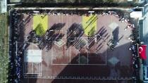 SAĞLIK MESLEK LİSESİ - Öğrencilerden 'Afrin' Koreografisi