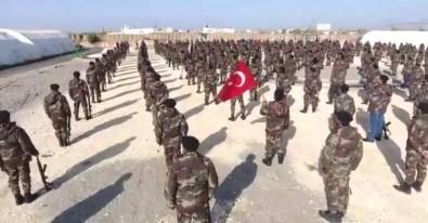 Türkmen komandoları Afrin yolunda