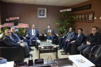 İNTERNET KAFE - STB Başkanı Hastaoğlu'ndan Esnaf Odalarına Ziyaret