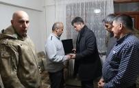 ŞEHİT BABASI - TBB Başkanı Feyzioğlu'ndan Şehit Evine Taziye Ziyareti