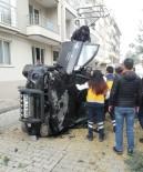 İSMAIL KARAKUYU - Ters Yöne Giren Otomobil Takla Attı Açıklaması 1 Yaralı