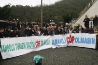 Trabzon'da Katı Atıktan Elektrik Üretilecek Tesise Protesto