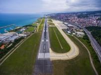 KABİN GÖREVLİSİ - Trabzon Havalimanı'nda Yeni Yılın İlk Ayında Yüzde 24'Lük Artış