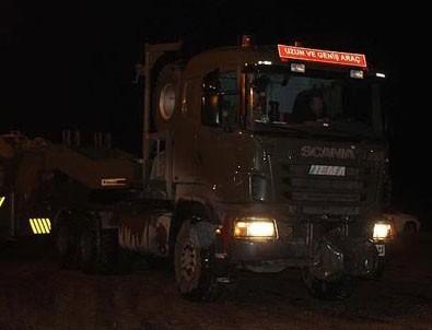 TSK konvoyu İdlib'e intikal etti