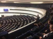 NİYAZİ NEFİ KARA - Türkiye-AB Karma Parlamento Komisyonu Başkanlık Divanı Avrupa Parlamentosu'nu Ziyaret Etti