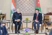 AMMAN - Ürdün Kralı II. Abdullah, Hindistan Başbakanı Modi İle Bir Araya Geldi