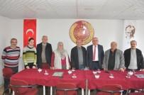 AHMET ÖZTÜRK - Ürgüp Belediye Başkanı Yıldız, CHP İlçe Teşkilatını Ziyaret Etti