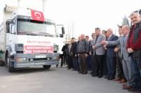 MEHMET MARAŞLı - Ürgüp'ten Afrin'e 14 Ton Su Gönderildi