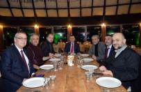 DEMOKRAT PARTI - Vali Büyükakın, Siyasi Partilerin İl Başkanları İle Bir Araya Geldi