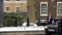 TİCARET ANLAŞMASI - AB Başkanı Tusk, İngiltere Başbakanı May İle Bir Araya Geldi