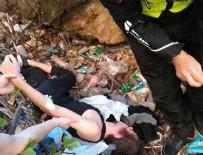 İNTİHAR GİRİŞİMİ - Arkadaşına fotoğrafını çektirip 30 metreden atladı