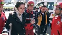 İTFAİYE MERDİVENİ - Aydın'da Afet Ve Acil Durum Tatbikatı Gerçeği Aratmadı