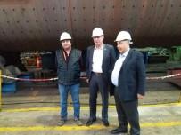 ÇİMENTO FABRİKASI - Başkan Duymuş'tan Fabrika Ziyareti