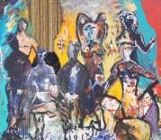 KIEV - Bedri Baykam'ın Son 10 Yıldan Seçki Sergisi