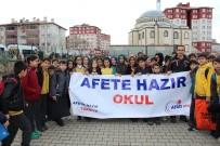 GAZİ İLKÖĞRETİM OKULU - Bingöl'de Öğrencilere Afet Eğitimi Verildi
