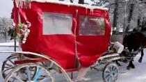 ABANT - Bolu'da Kar Yağışı Tatil Merkezlerini Canlandırdı