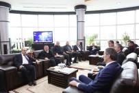 SERDİVAN BELEDİYESİ - Düzce Valisi Ve Belediye Başkanından Serdivan'a Ziyaret